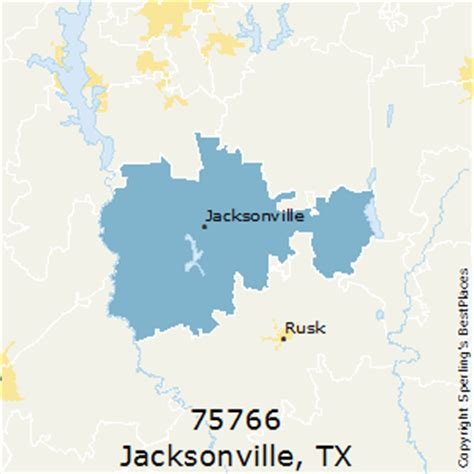 jacksonville texas map best places to live in jacksonville zip 75766 texas