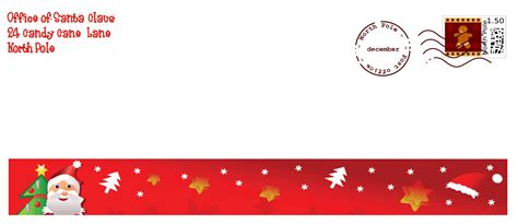 santa envelope template search results for free santa envelope template