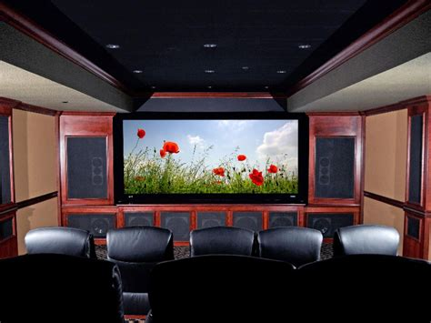 Home Theater Design Ideas On A Budget | media rooms and home theaters by budget home remodeling