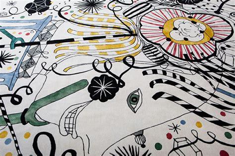 japanische teppiche teppich design jaime hayon mit folklorelementen