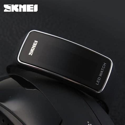 Skmei Sport Rubber Led 1119 T0310 1 skmei jam tangan led 1119 black silver