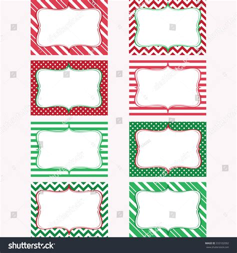 Gift Card Stickers - christmas printable labels set tags photo frame gift tags scrap booking card