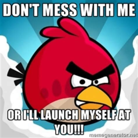 Angry Bird Meme - angry birds meme 2 by chrissiannie on deviantart