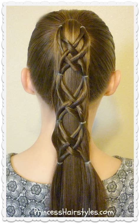 hairstyles for girls princess hairstyles criss cross woven ponytail hairstyle hairstyles for