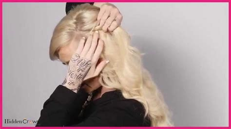 hair extensions for a fuller crown area how to properly stack two hidden crown hair extensions