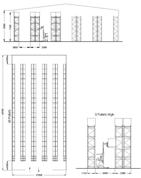 warehouse rack layout template sydney pallet racking specialists selective pallet racking