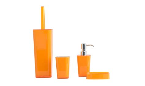 orange bathroom accessories set free orange set bathroom accessories fishpools
