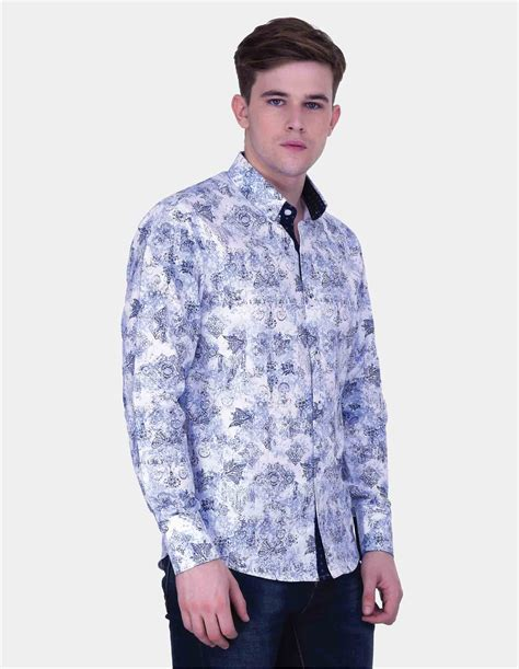Sleeve Printed Shirt buy sleeve printed linen shirt for