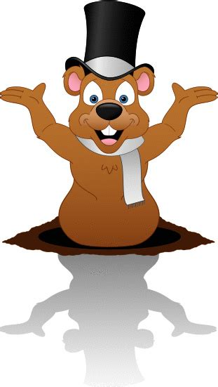 groundhog day clipart groundhog day clip vector images illustrations istock