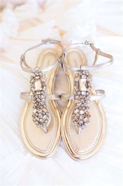braut sandalen flach the gallery for gt flat bridal shoes sandals