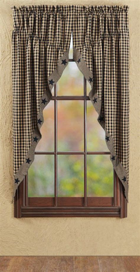 Primitive Window Curtains 1000 Images About Window Treatments Primitive Country Shabby And Shutters On Pinterest