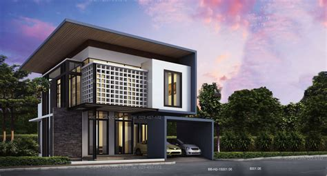 contemporary two story house plans modern house plans 2 story modern house