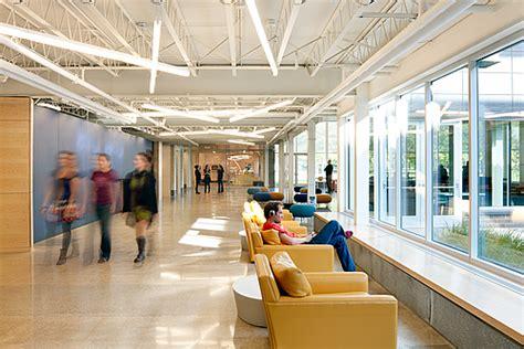 hallway courtyard weitz center  creativity