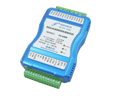 china convert 0 5v to rs232 analog sensor with rs232 voltage to digital signal converter sy