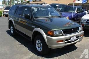 1998 Mitsubishi Montero For Sale 1998 Mitsubishi Montero Sport Ls For Sale In Escondido