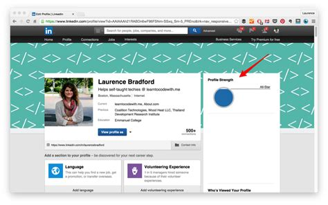 How To Define Mba Candidate Headline For Linked In by 9 Linkedin Profile Tips For New Developers Codementor
