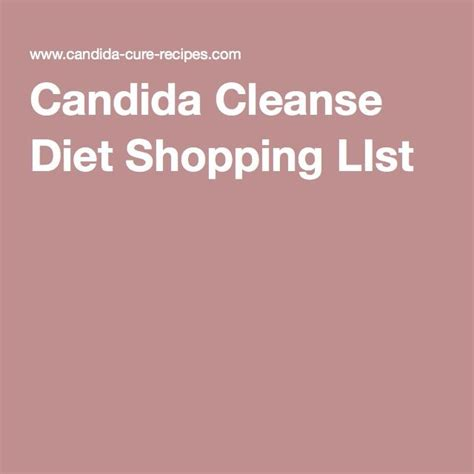 Candida Detox Food List by Best 25 Candida Cleanse Ideas On Anti Candida