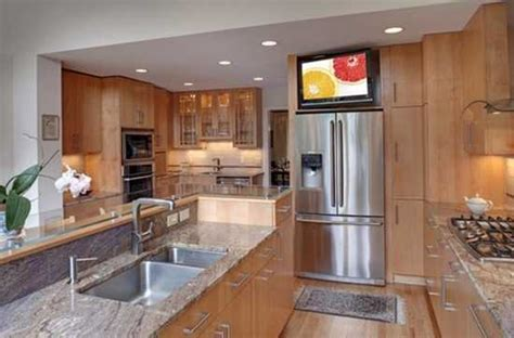 Kitchen Television Ideas 7 Modern Kitchen Design Trends Stylishly Incorporating Tv Sets Into Kitchen Interiors
