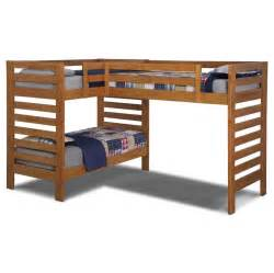 bedroom solid wood l shape bunk beds design l shaped