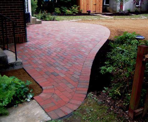 patio exles quot free form quot brick patio good exle of cutting bricks to