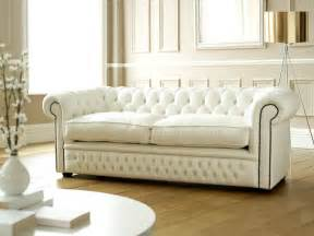 Comfortable Leather Sofas Chesterfield Sofa Bed Used Couch Amp Sofa Ideas Interior