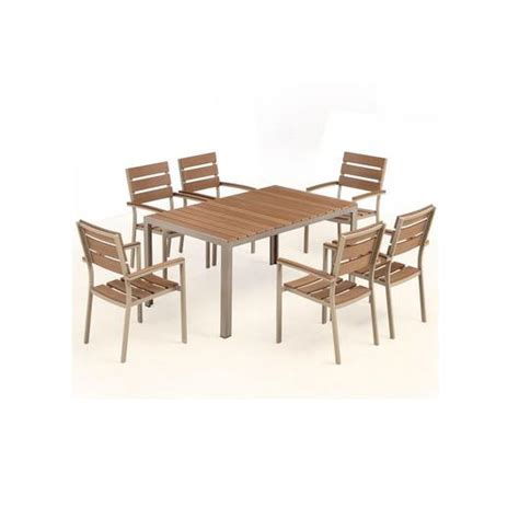 6 Seat Patio Dining Set Bow 6 Seat Outdoor Dining Set 2bmod