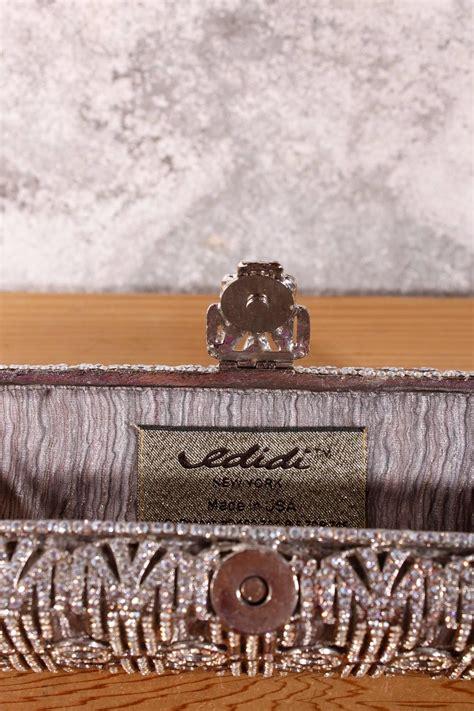 Edidi Mesh Clutch by Edidi Chrystal Mesh Clutch For Sale At 1stdibs