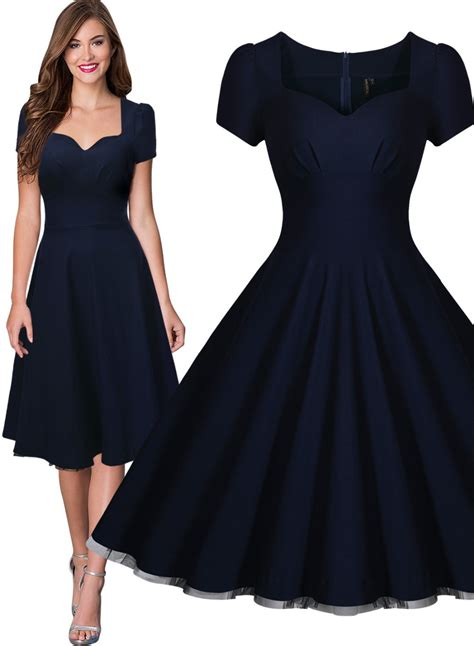 swing tea dress free shipping women s vintage style retro 1940s shirtwaist