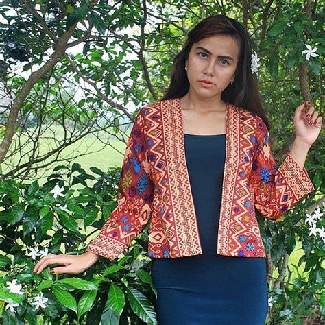 Etnik Bloud free ongkir se indonesia blazer etnik dengan motif kain