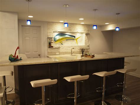 home bar decor ideas modern basement bar ideas 14 decor ideas enhancedhomes org