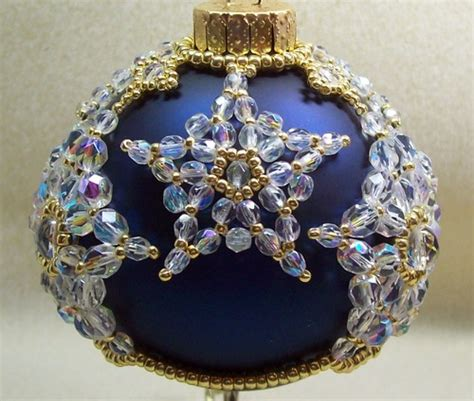 beaded christmas decorations free patterns kaleidoscope of beaded baubles kaleidoscope effect