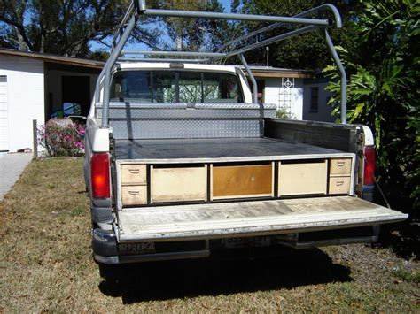truck bed organizer diy homemade truck bed slide truck bed slide truck drawers