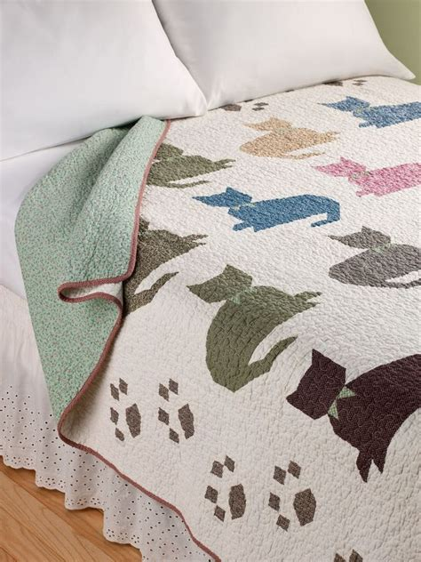 Patchwork Cat Pattern - best 25 cat quilt patterns ideas on cat quilt