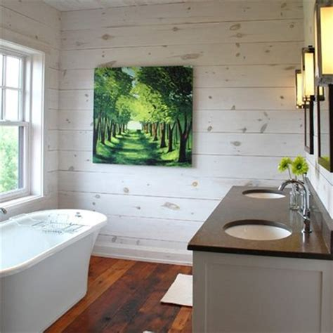 bathroom wall wood panels horizontal whitewashed or weather wood panel great for
