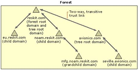 assigning dns names to create a domain hierarchy