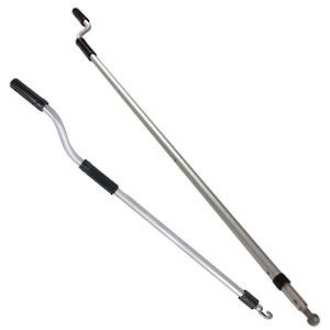 awning crank pole covers and handles hi tech glazing supplies