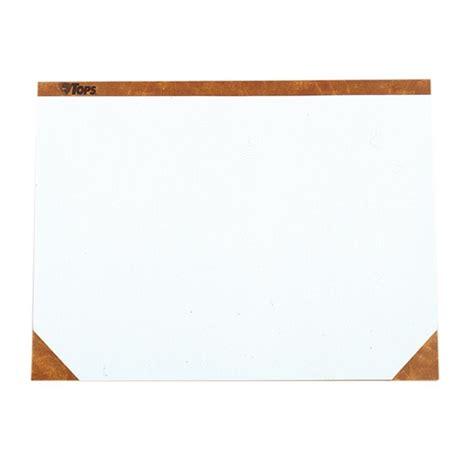 Paper Desk Pad by Tops Plain Paper Desk Pad 1 Pad White Quickship