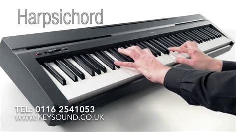Piano Yamaha P 45 yamaha p 45 digital piano demo