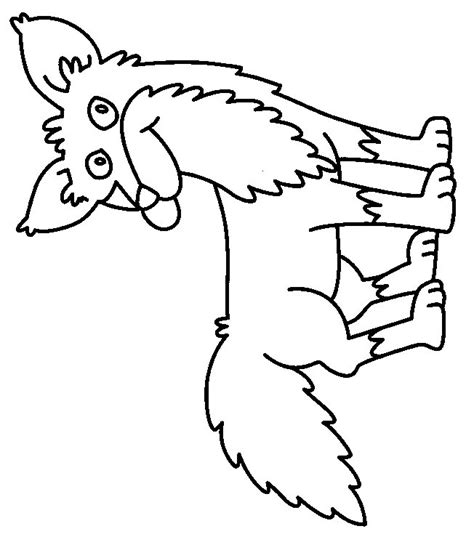 coloring page fox in socks coloring page fox animals coloring pages 15