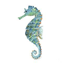 what color is a seahorse blue seahorse painting by kirkpatrick