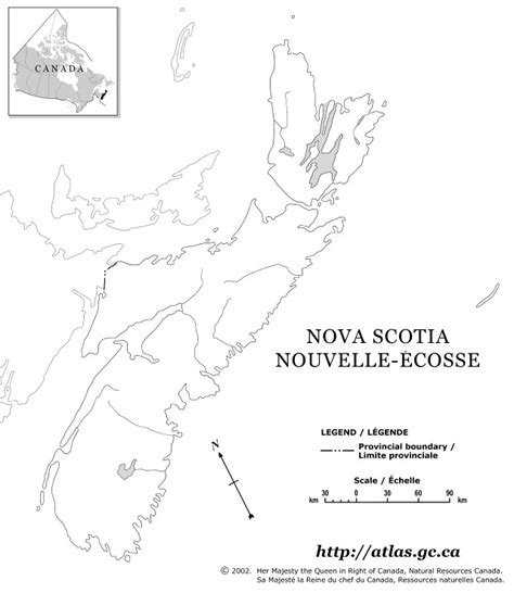 Map Of Scotia Outline by Scotia Outline Map