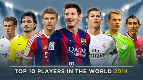 top ten best soccer players in the world best football players in the world 2014 www pixshark