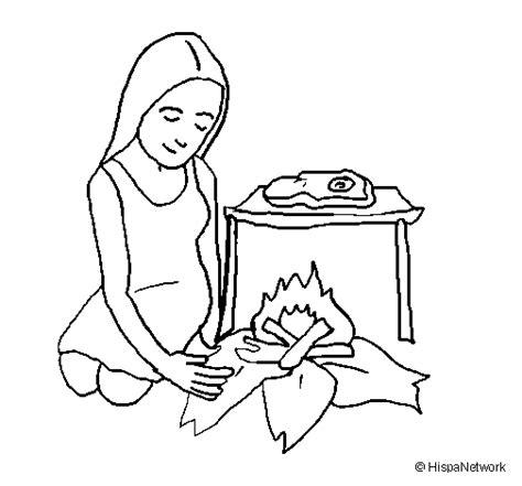 imagenes para dibujar mujeres dibujo de mujer cocinando para colorear dibujos net