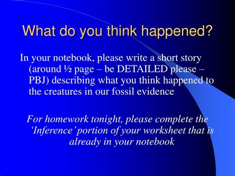 What Do You About Pbjs ppt observation vs inference powerpoint presentation