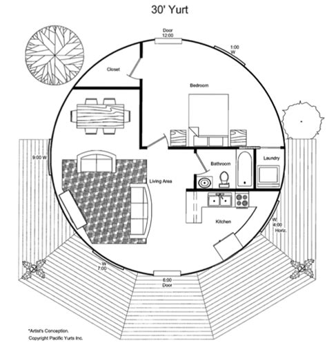 pacific yurt floor plans yurts skylights and google search on pinterest