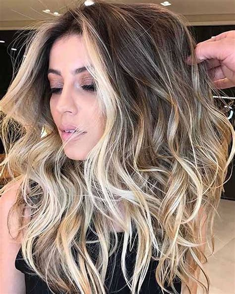 hair colors with highlights balayage ombre highlights 2018 etc