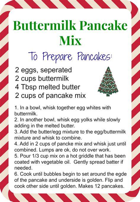 printable pancake recipes pancake mix real mom kitchen