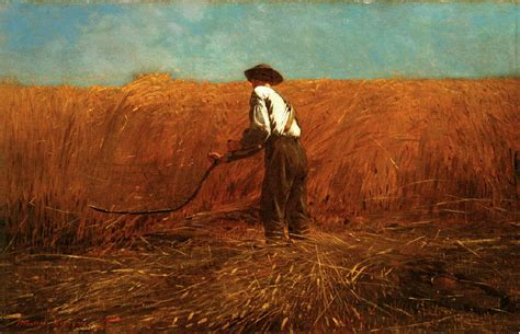 met painting winslow homer the veteran in a new field 1865 on