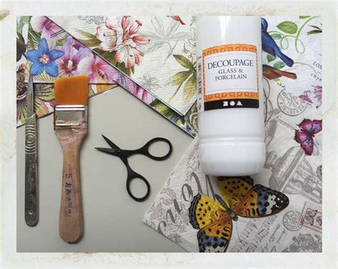 Decoupage Materials - decoupage tools and materials 28 images decoupage