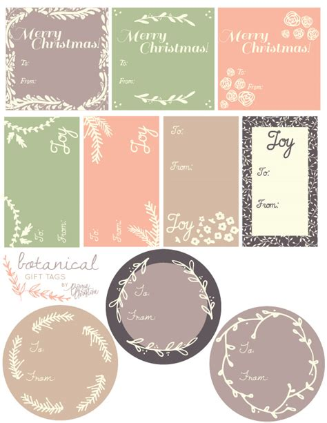 Christmas Label Templates Worldlabel Blog Gift Tag Template